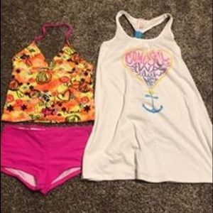 Girls swimming suit